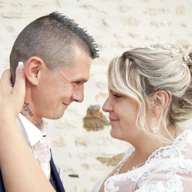 Photo mariage couple photographe normandie